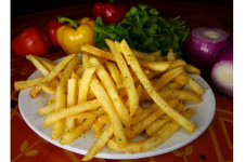 Golden Garlic Fries