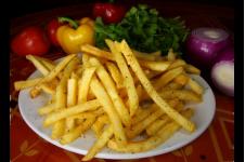 Golden Garlic Fries