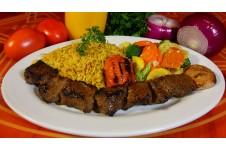 Broiled Moroccan Lamb Kabob