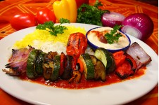 Broiled Vegetable Kabob