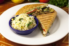 Grilled Chicken-Pesto Panini
